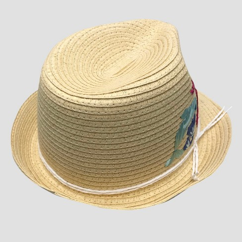 Toddler Girls  Oceans Embroidered Fedora - Cat   Jack™ 2T-5T   Target 392b324fa66