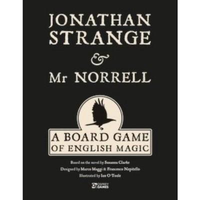 Jonathan Strange & Mr. Norrell - A Board Game of English Magic Board Game