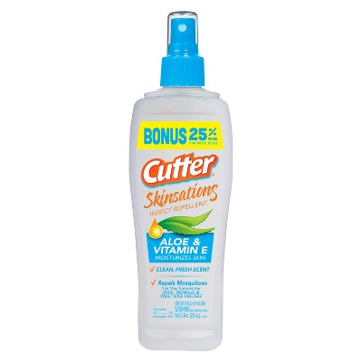 Insect Repellent: Cutter Skinsations