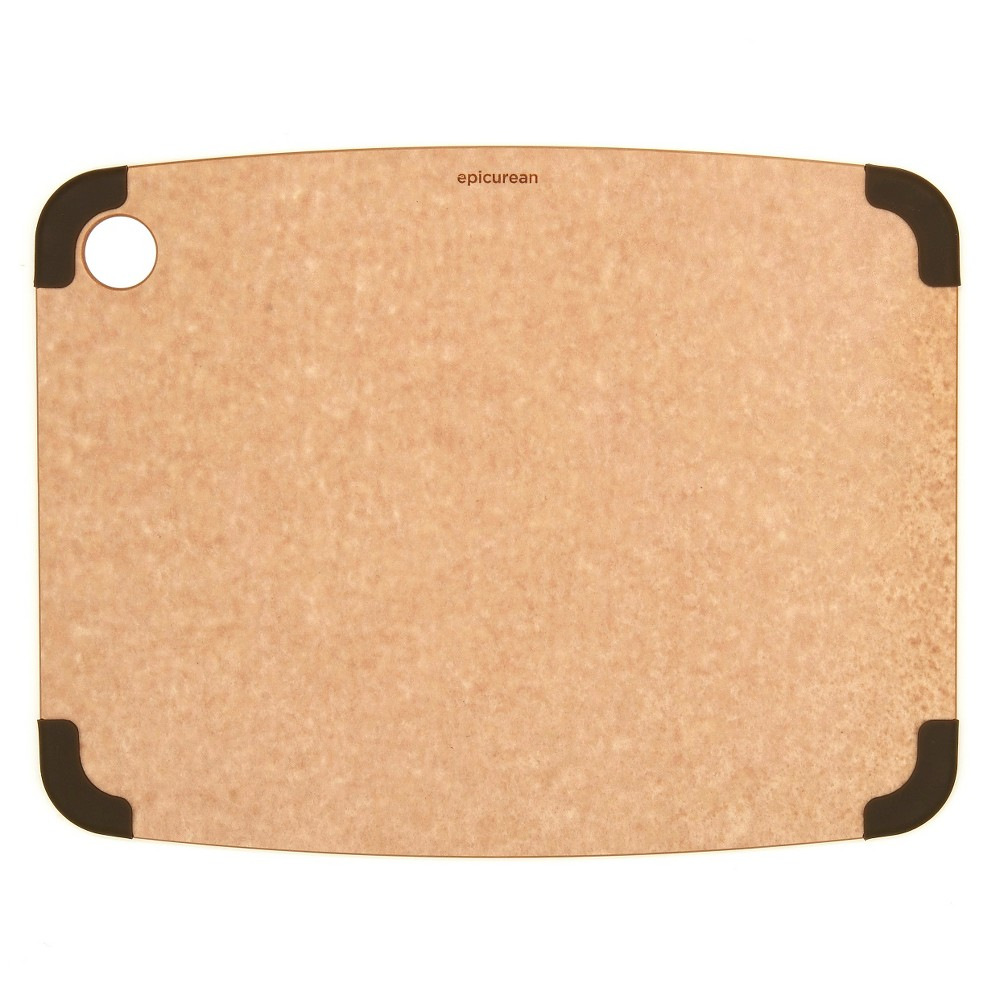 Image of Epicurean 14.5x11.25 Non-Slip Cutting Board - Natural/Brown, Beige Brown