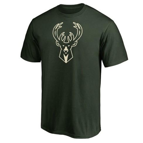 NBA Milwaukee Bucks Men's Monochrome Standard T-Shirt - image 1 of 3