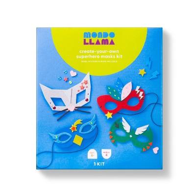 Create-Your-Own Superhero Masks Kit - Mondo Llama™