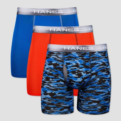 Hanes Premium Men's Performance Boxer Briefs - Colors May Vary