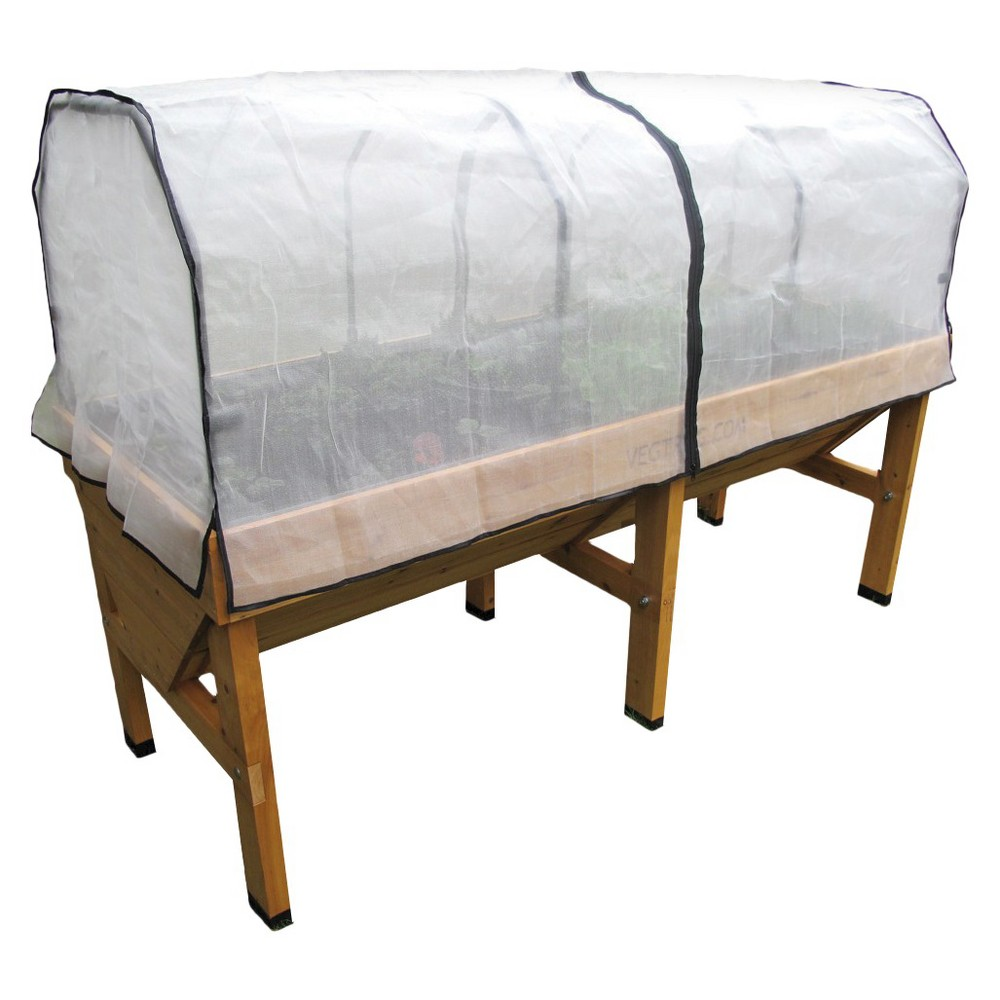 Image of Medium Greenhouse Micromesh Cover - White - VegTrug
