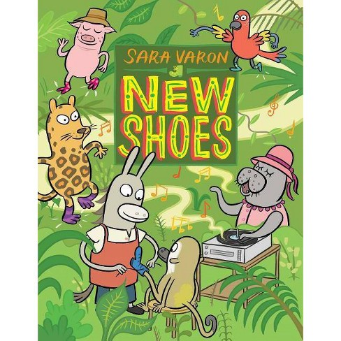 New Shoes - by  Sara Varon (Hardcover) - image 1 of 1