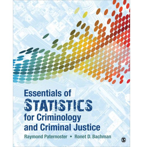 Essentials of Statistics for Criminology and Criminal Justice (Paperback) (Raymond Paternoster & Ronet - image 1 of 1