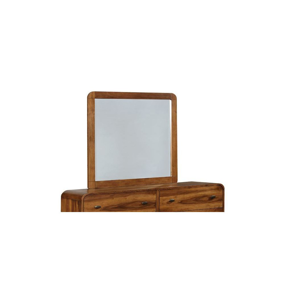 Image of Belham Dresser Mirror Dark Walnut - Private Reserve, Clear