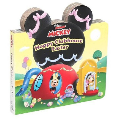 Disney Mickey Mouse Clubhouse: Hoppy Clubhouse Easter - (Board Book)