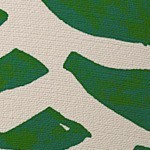 Green/Cream Animal Print