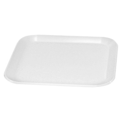 Rounded Square Melamine Salad Plate 8.5   White - Room Essentials™