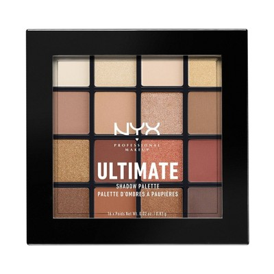 NYX Professional Makeup Ultimate Eyeshadow Palette - 0.02oz