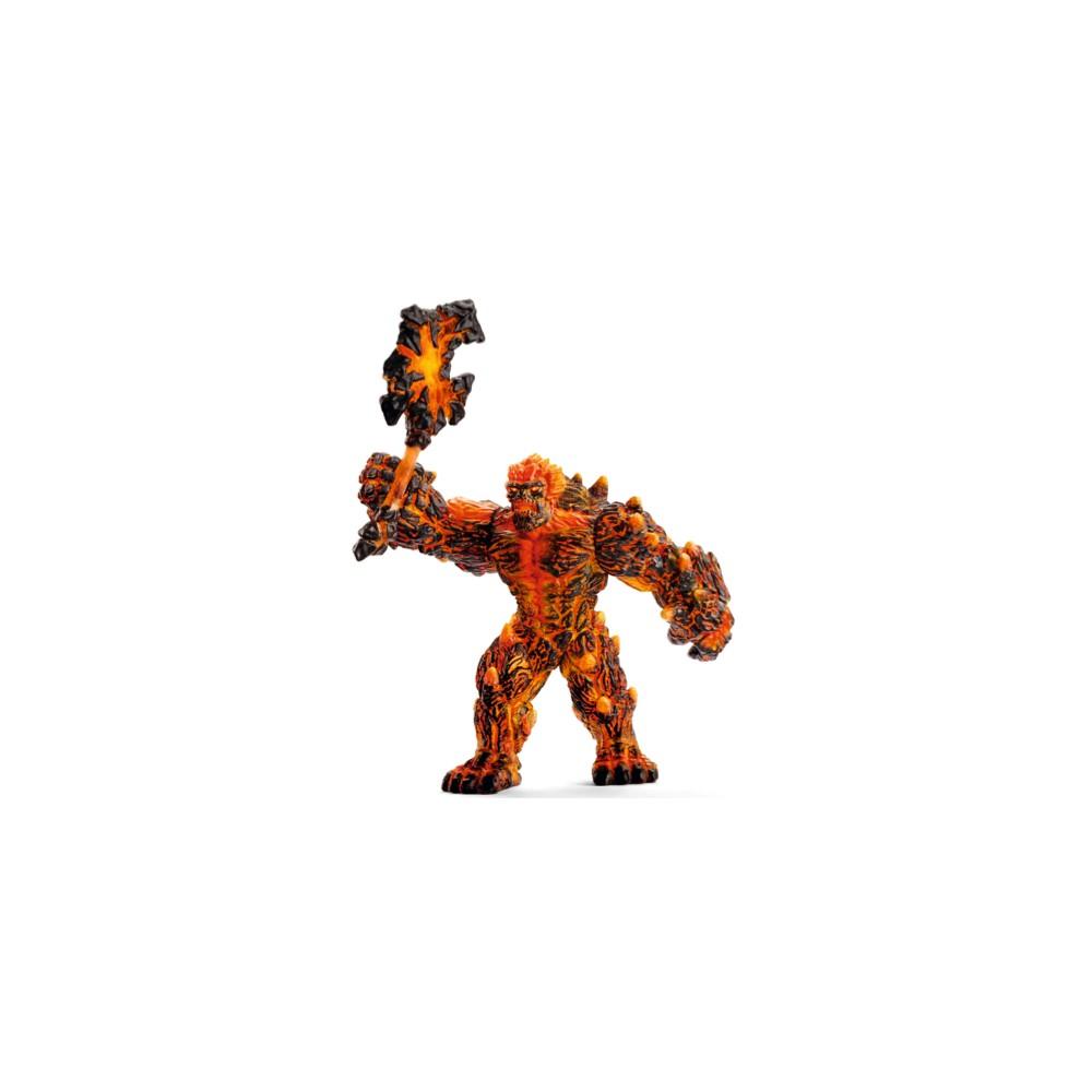 Schleich Lava Golem with Weapon Action Figure 1pc