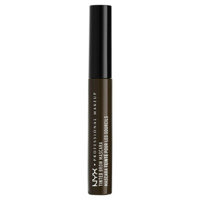 Nyx Professional® Makeup Tinted Brow Mascara Black   0.22oz by Nyx Professional Makeup