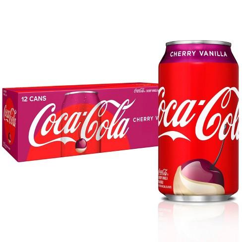 Coca-Cola Cherry Vanilla - 12pk/12 fl oz Cans - image 1 of 3