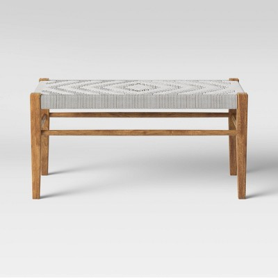 Lumarco Woven Bench Natural - Opalhouse™
