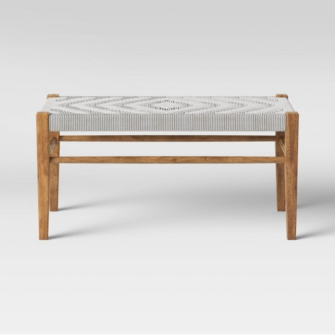 Lumarco Woven Bench Natural - Opalhouse™ - image 1 of 4