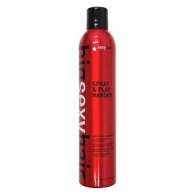 Sexy hair spray and play