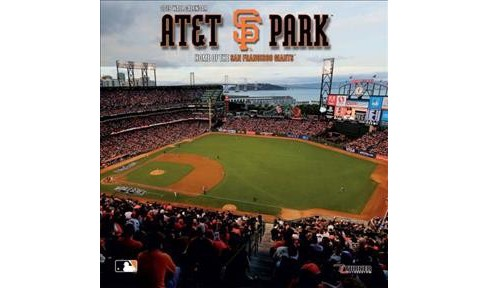 AT&T Park Home of the San Francisco Giants 2019 Calendar -  (Paperback) - image 1 of 1