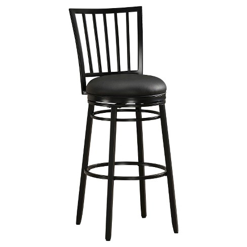 "Easton 30"" Barstool Metal/Black - American Heritage Billiards - image 1 of 4"
