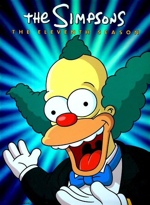 The Simpsons: Season 11 (4 Discs) (dvd_video) - image 1 of 1
