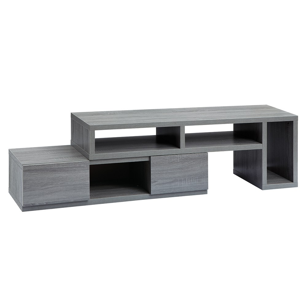 "Image of ""65""""Adjustable TV Stand Console Gray - Techni Mobili"""