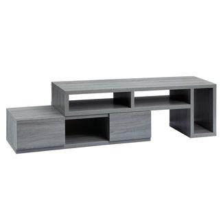 65u0022Adjustable TV Stand Console Gray - Techni Mobili