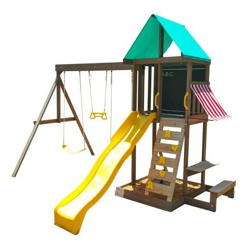 KidKraft Newport Wooden Swing Set/Playset - image 1 of 7