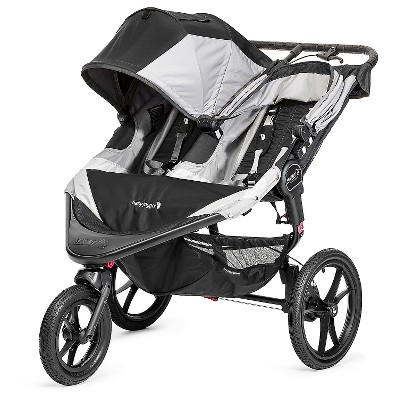 Baby Jogger Summit X3 Double Stroller - Black/Gray