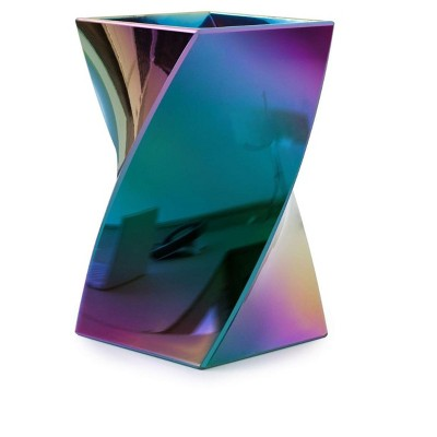 Zodaca Stylish Aurora Wave Pencil Pen Holder Cup Office Desktop Storage Organizer - Mixed Colors