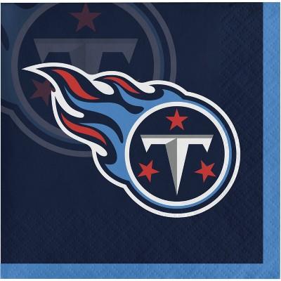 48ct Tennessee Titans Football Beverage Napkins