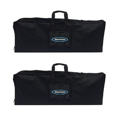 Eliminator Lighting Decor MBSK Large Convenient Travel Carry/Storage Bag for DJ Equipment, Black, 39 x 5 x 15 Inches (2 Pack)