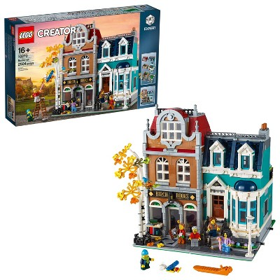 LEGO Creator Expert Bookshop Modular Building Kit Collectors Toy for Adults 10270