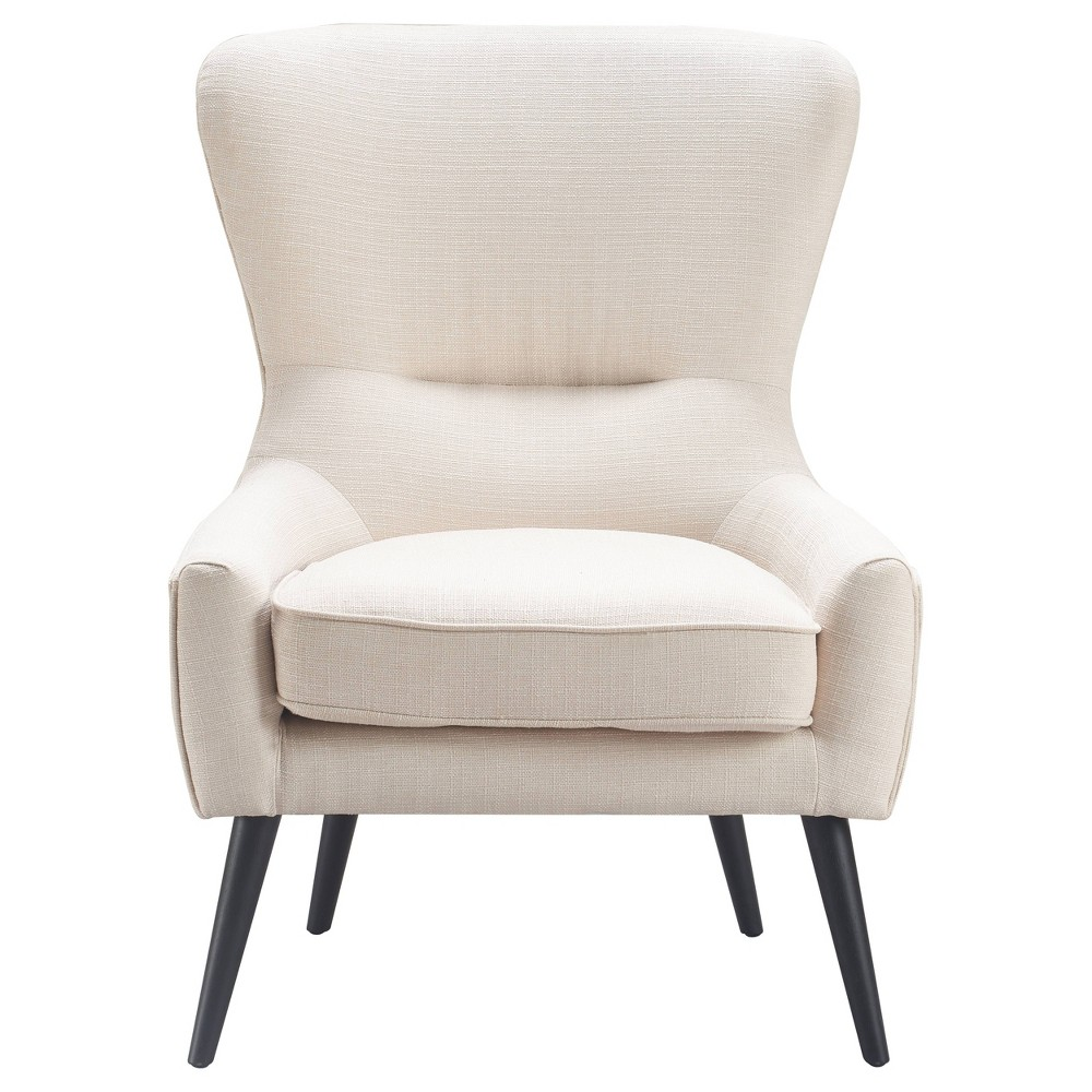 Image of Auburn Wingback Chair Ivory - Finch
