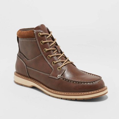 Men's Jarret Fashion Boots - Goodfellow & Co™ Brown - image 1 of 3