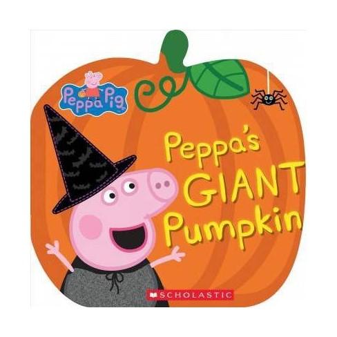 Peppa's Giant Pumpkin -  BRDBK (Peppa Pig) by Samantha Lizzio (Hardcover) - image 1 of 1