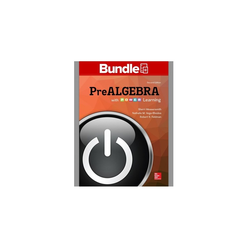 Prealgebra With P.o.w.e.r. Learning - (Paperback)