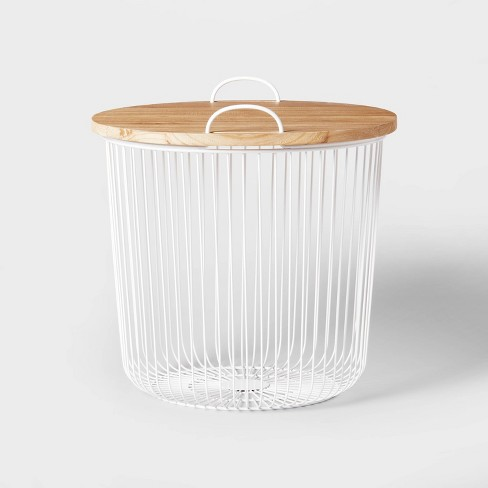 Storage Table Wire Bin - Pillowfort™ - image 1 of 4