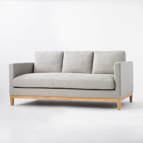 Woodland Hills Wood Base Sofa - Threshold™ designed with Studio McGee - image 1 of 4