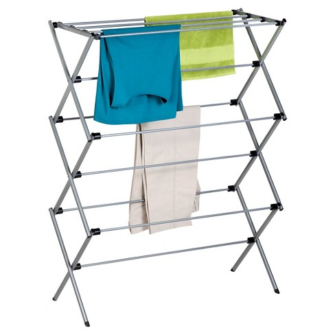 Honey-Can-Do Folding Steel Drying Rack - Silver - image 1 of 1