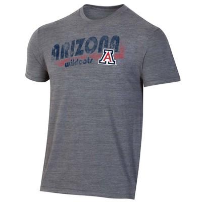 NCAA Arizona Wildcats Men's Short Sleeve Gray T-Shirt