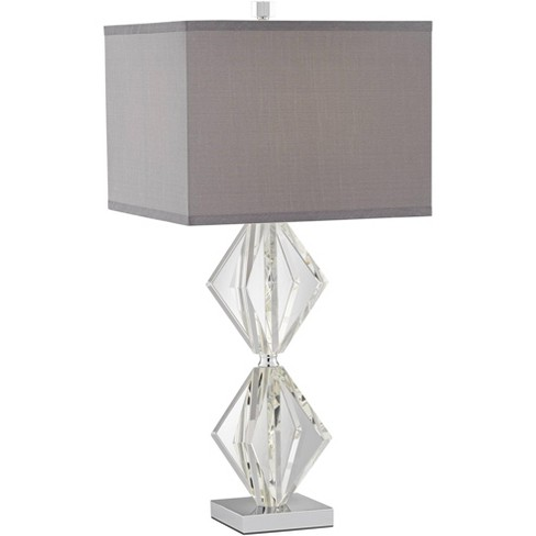 Vienna Full Spectrum Modern Table Lamp, Table Lamp Square Shade