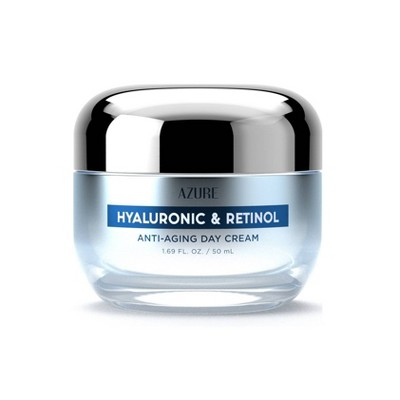 Azure Skincare Hyaluronic and Retinol Day Cream - 1.69 fl oz