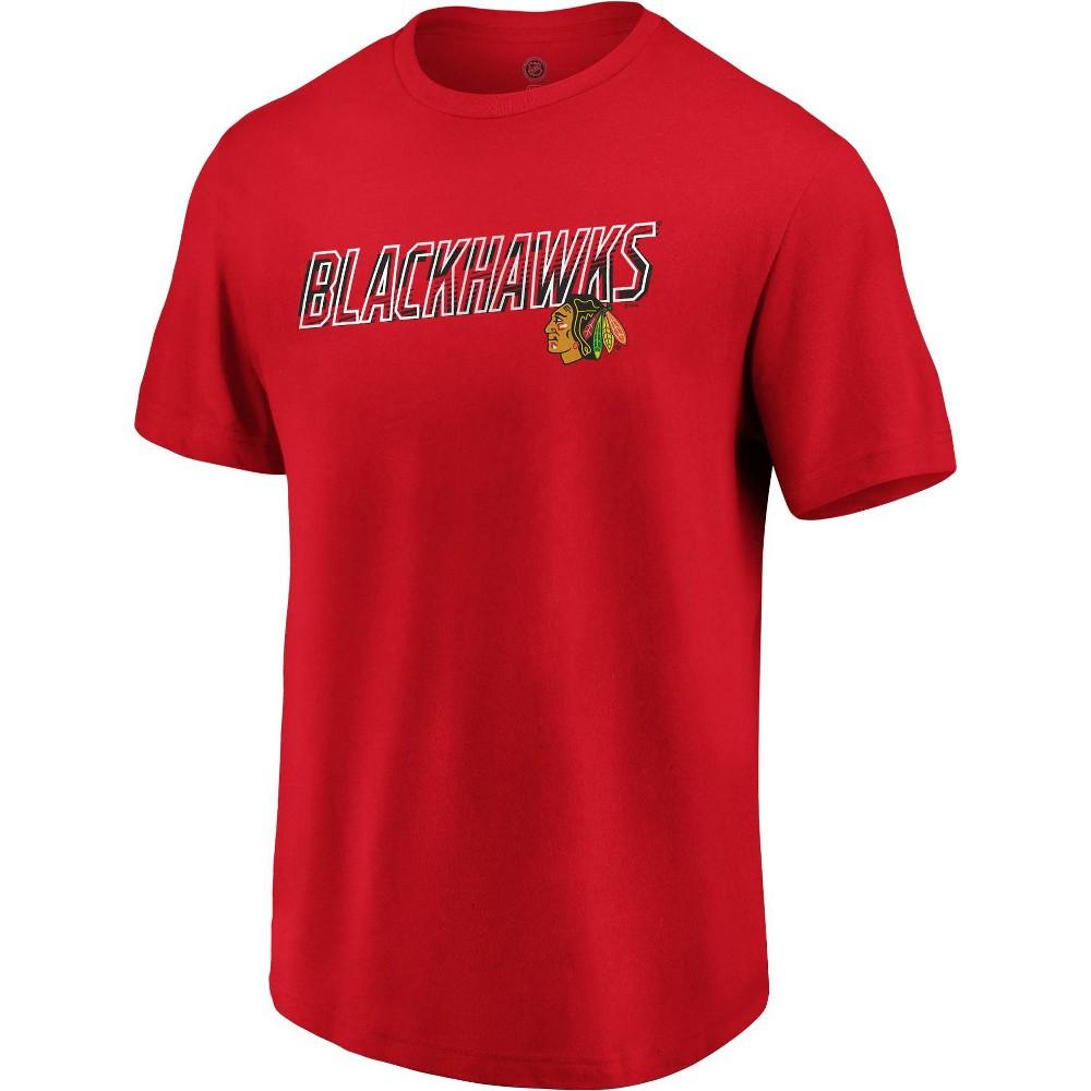 Nhl Chicago Blackhawks Men 39 S Engage Horizon Short Sleeve T Shirt M