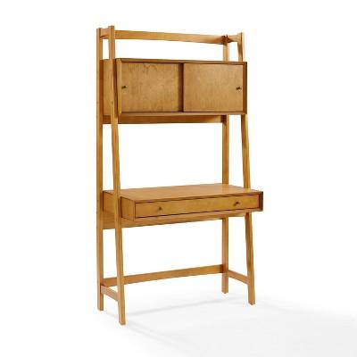 Landon Wall Desk Acorn - Crosley