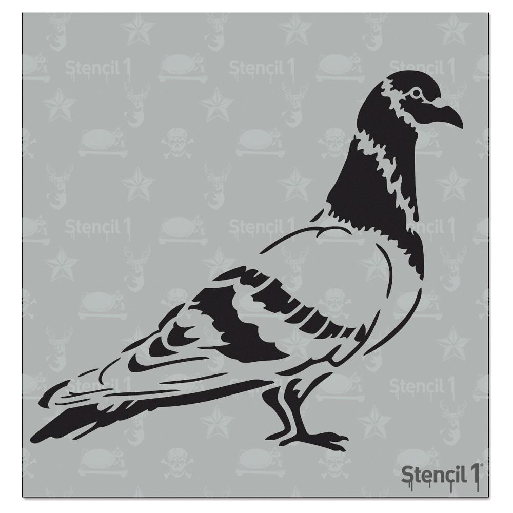 Stencil1 Pigeon - Stencil 5.75