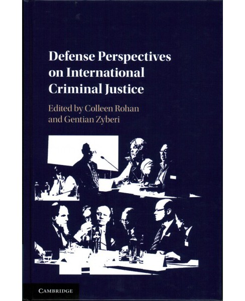 Defence Perspectives on International Criminal Justice (Hardcover) - image 1 of 1