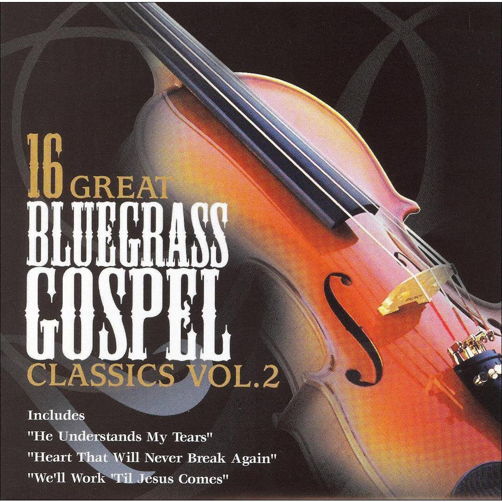 Various - 16 Great Bluegrass Gospel Classics:V2 (CD)