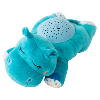 SwaddleMe® Slumber Buddies® DoZzing Hippo - Soother with Sounds and Lights