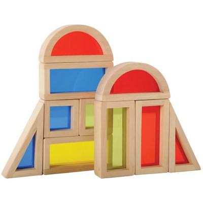 Guidecraft Rainbow Blocks  - 10 Pcs