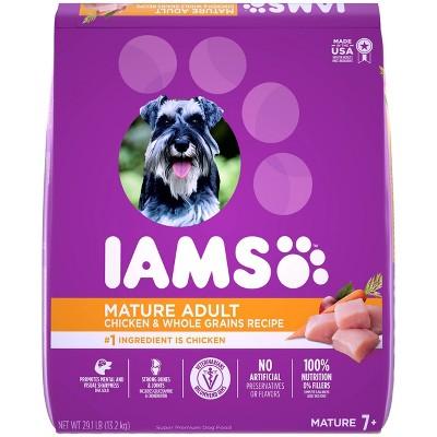 IAMS Proactive Whole Grain Health Mature Adult Chicken Dry Dog Food - 29.1lbs
